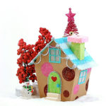 christmas village house kandee
